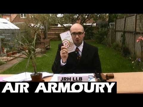 Airgun Law (England & Wales) | Air Armoury
