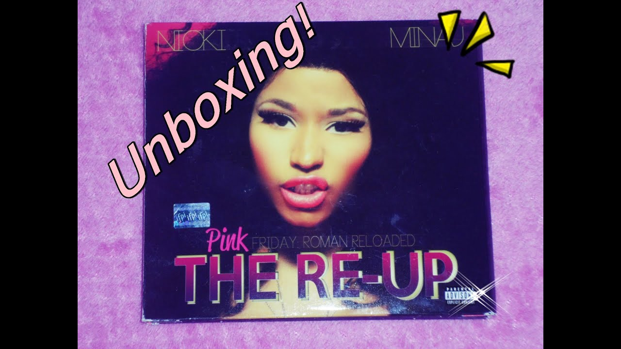 unboxing nicki minaj pink friday roman reloaded the