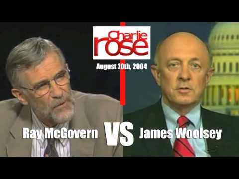 Ray McGovern Debates James Woolsey On Iraq War - Charlie Rose - Audio Only - 8/20/2004