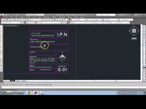Tutorial margen y pie de plano youtube for Pie de plano arquitectonico
