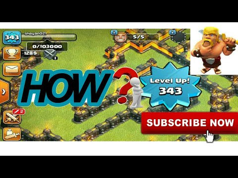 Clash Of Clans | How to Increase Level Up or XP ?! | Fast & Best Way To Increase Level Up or XP 👍