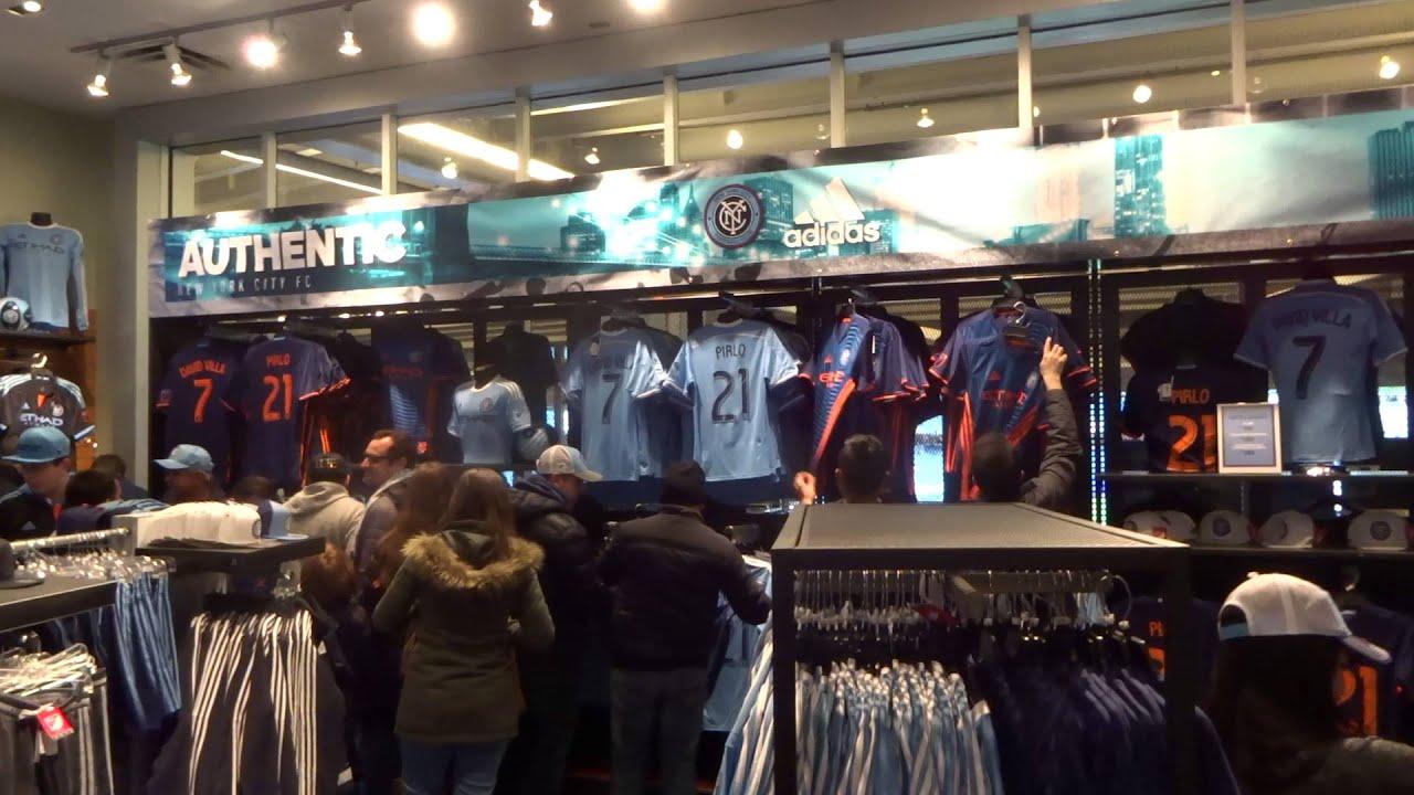 watch 7cdb0 f5eb4 NYCFC Team Store at Yankee stadium