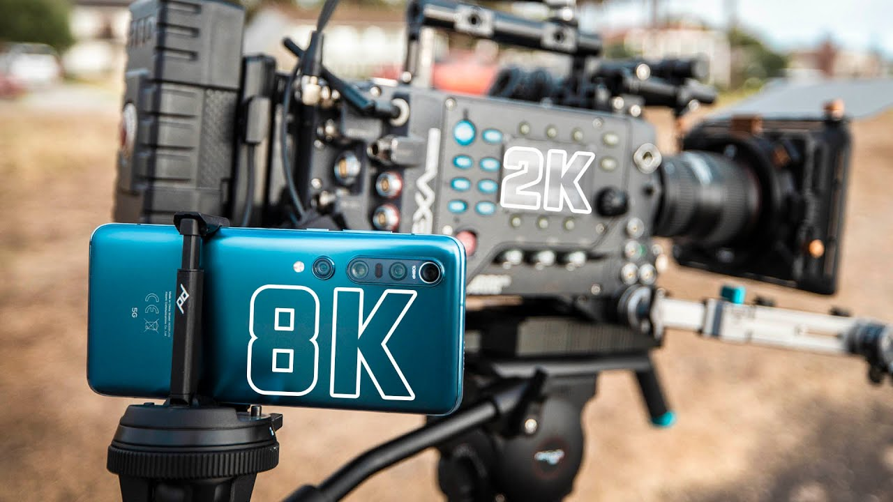 8k Phones vs 2k Hollywood Cinema Camera | Arri Alexa vs Samsung S20 Ultra & Xiaomi Mi 10 Pro