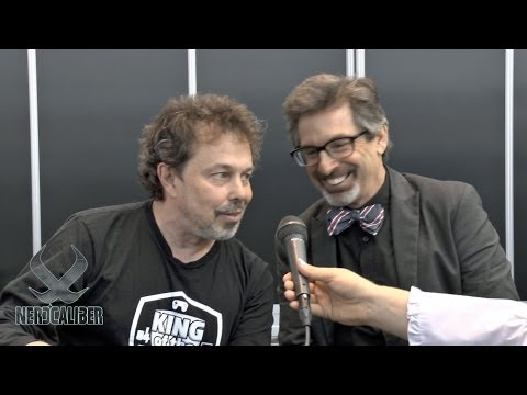 KING OF THE NERDS! Robert Carradine and Curtis Armstrong at New York Comic Con 2013