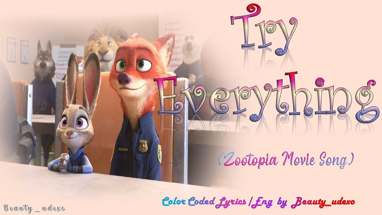 """Download Shakira - Try Everything 🐰🎖💉 (From """"Zootopia"""") Lyrics"""