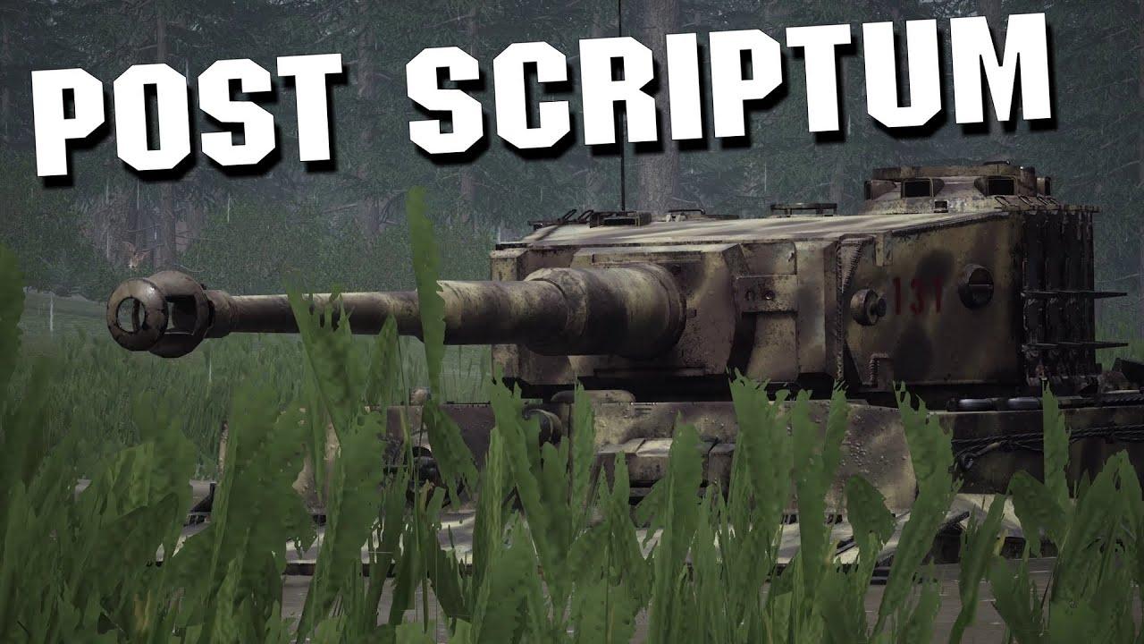 Post Scriptum Tank Highlights [Part 2]
