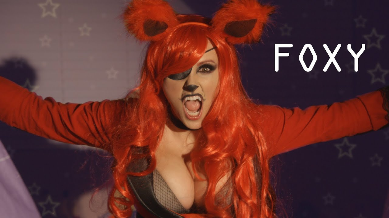 Five nights at freddy s foxy cosplay fnaf foxy fangs diy youtube