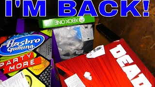 I'M BACK IN THE DUMPSTER!!! Gamestop Dumpster Dive Night #374