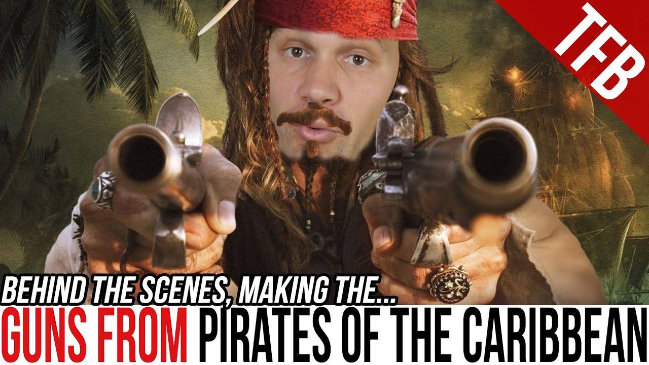 Making the Guns from Pirates of the Caribbean