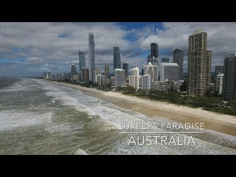 Our World by Drone in 4K - Surfers Paradise, Australia