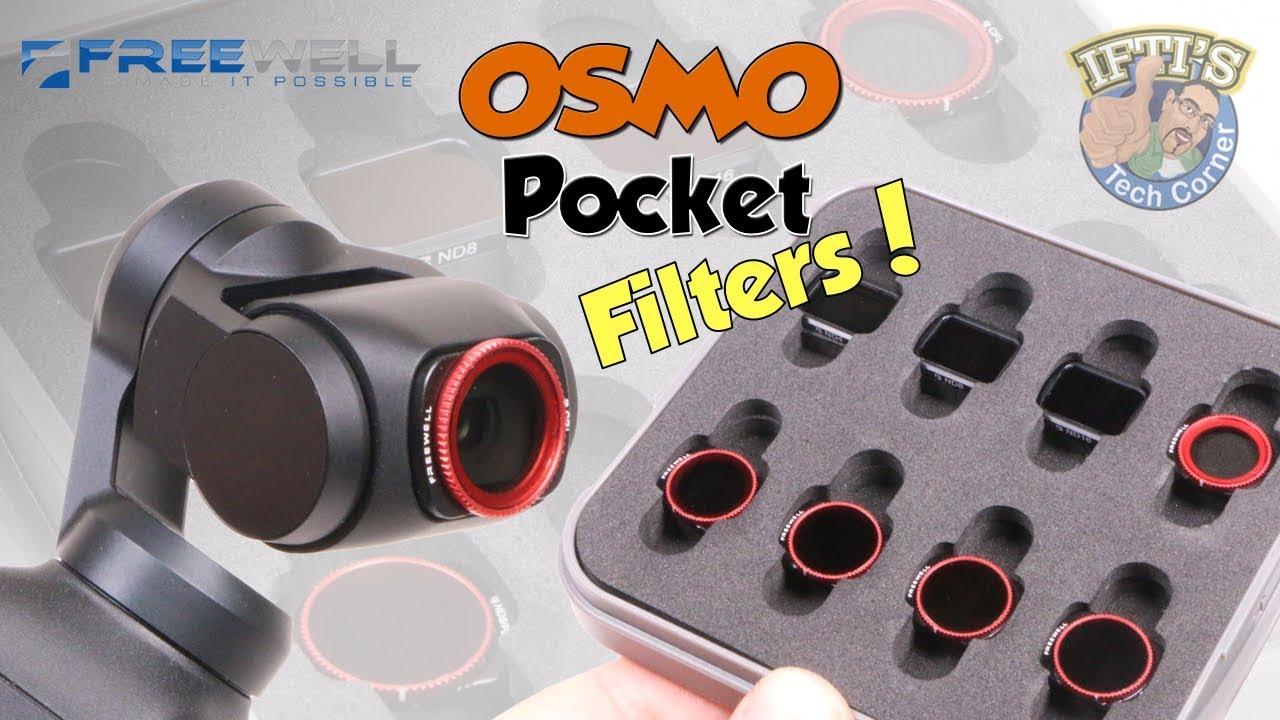 for DJI OSMO Pocket Filters Optical Glass Vlog Filters UV CPL ND8 NDPL Camera Lens Filter Kit for DJI OSMO Pocket Gimbal Accessories ND4-PL
