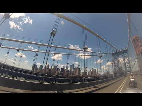 NYC Motorcycle Tours: Bridge and Tunnel Tour with Kat