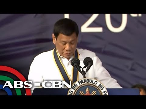 WATCH:  President Duterte speaks at the anniversary of the Philippine Navy | 22 May 2018