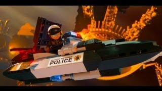 The LEGO Movie Videogame Walkthrough Part 10 - Escape From Cloud Cuckoo Land