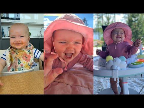 She's So Mischievous! | Sophia's 8 Month Update