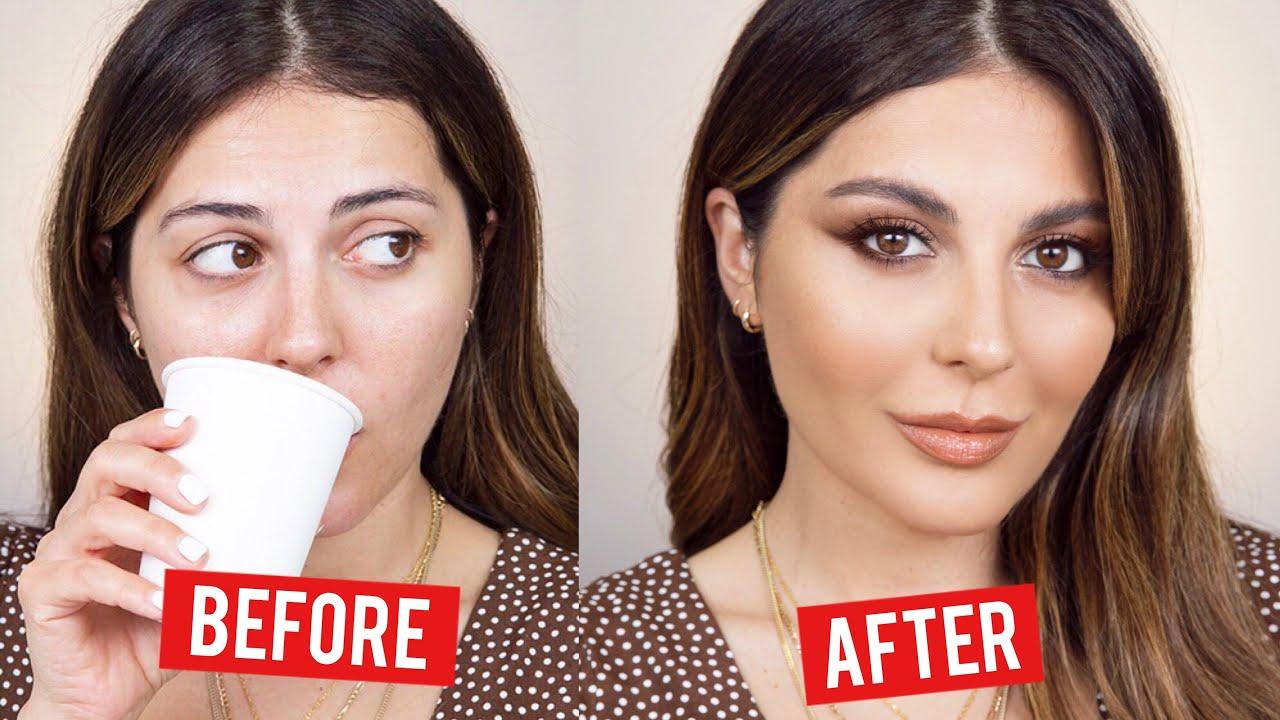 10 Min Makeup Transformation   Sona Gasparian - YouTube