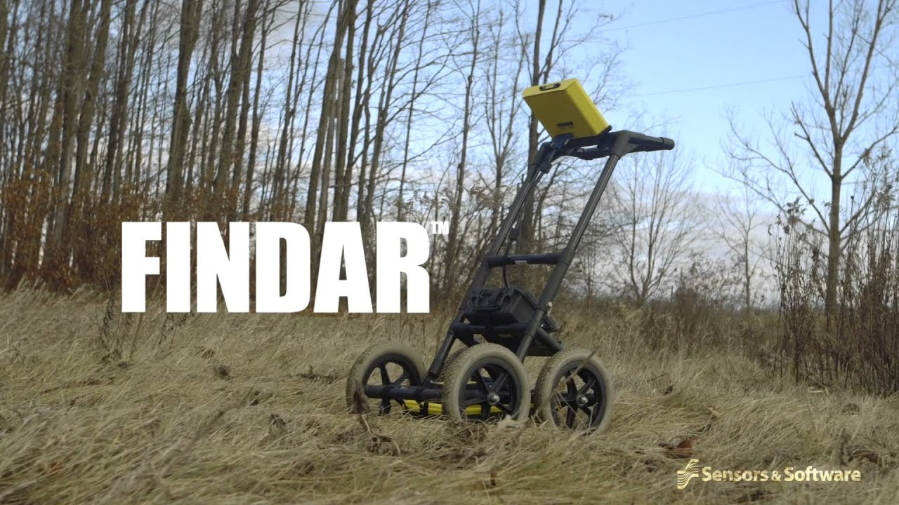 FINDAR - Locate buried evidence with Ground Penetrating Radar (GPR)