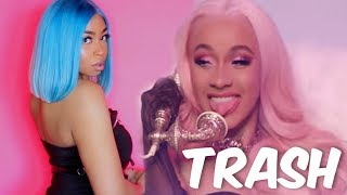 WHY DO B ACK WOMEN CONTINUE TO SUPPORT THIS GARBAGE? MY OPINION ON CARDI B FT. CELIE HAIR