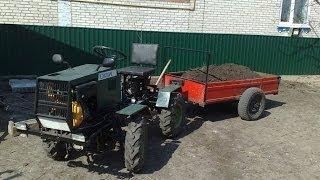 Полноприводный минитрактор. История сборки(http://traktor.ukranekdot.com/, 2014-01-12T18:02:30.000Z)