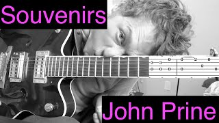 Souvenirs - John Prine - Complete Guitar Tutorial with Tabs
