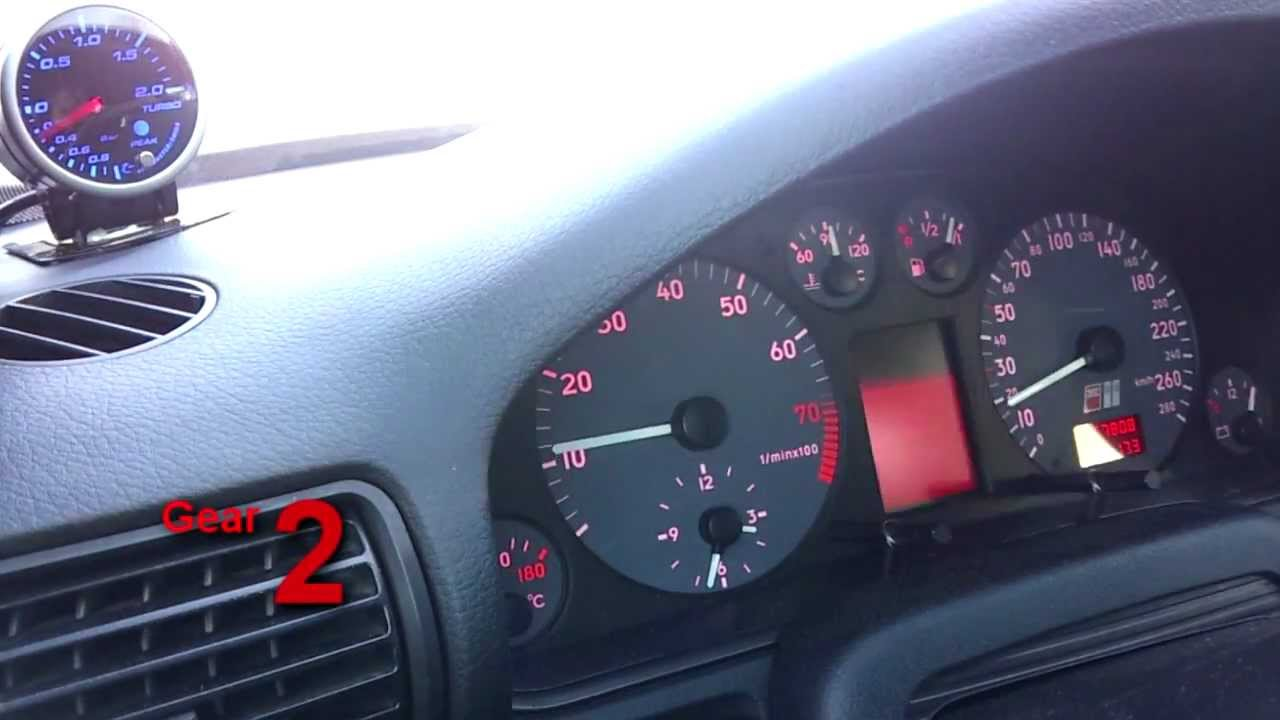 Audi S4 B5, boost problem - YouTube