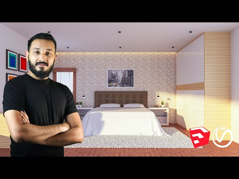 the-complete-sketchup-&-vray-course-for-interior-design-|-sketchup-2019-|-vray-next