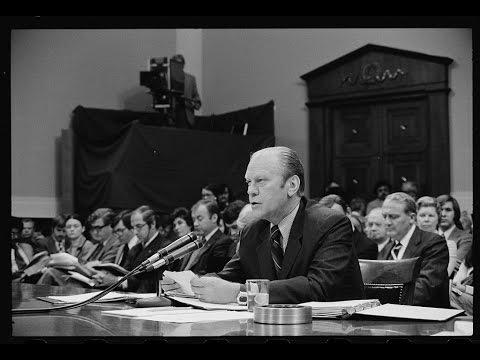 President Ford's Congressional Testimony on Nixon Pardon Preview