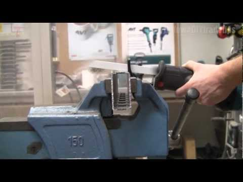 How to cut metal with the Makita JR3050T recip saw