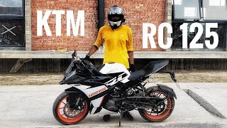 KTM RC 125 review   Most beautiful bike in Bangladesh ?    The Outsider