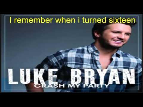 Luke Bryan Dirt Road Diary Lyric Video
