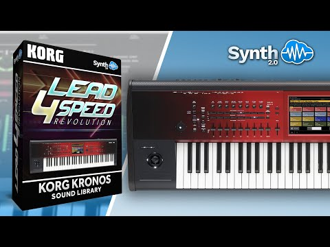 Lead 4 Speed - Revolution Synthcloud Library on Korg Kronos Demo Part 1