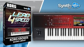 Lead 4 Speed - Revolution on Korg Kronos Demo Part 1: Monster Rev. + Key Solo Rev.
