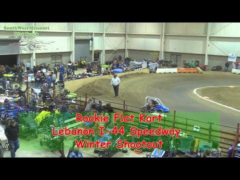 Rookie Flat Kart  - I-44 Speedway Winter Shootout 1-19-2018