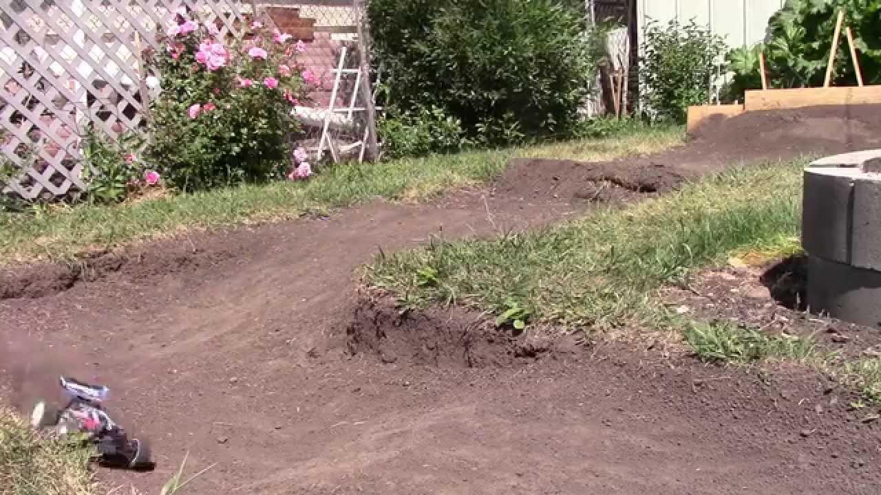 my small backyard dirt track youtube