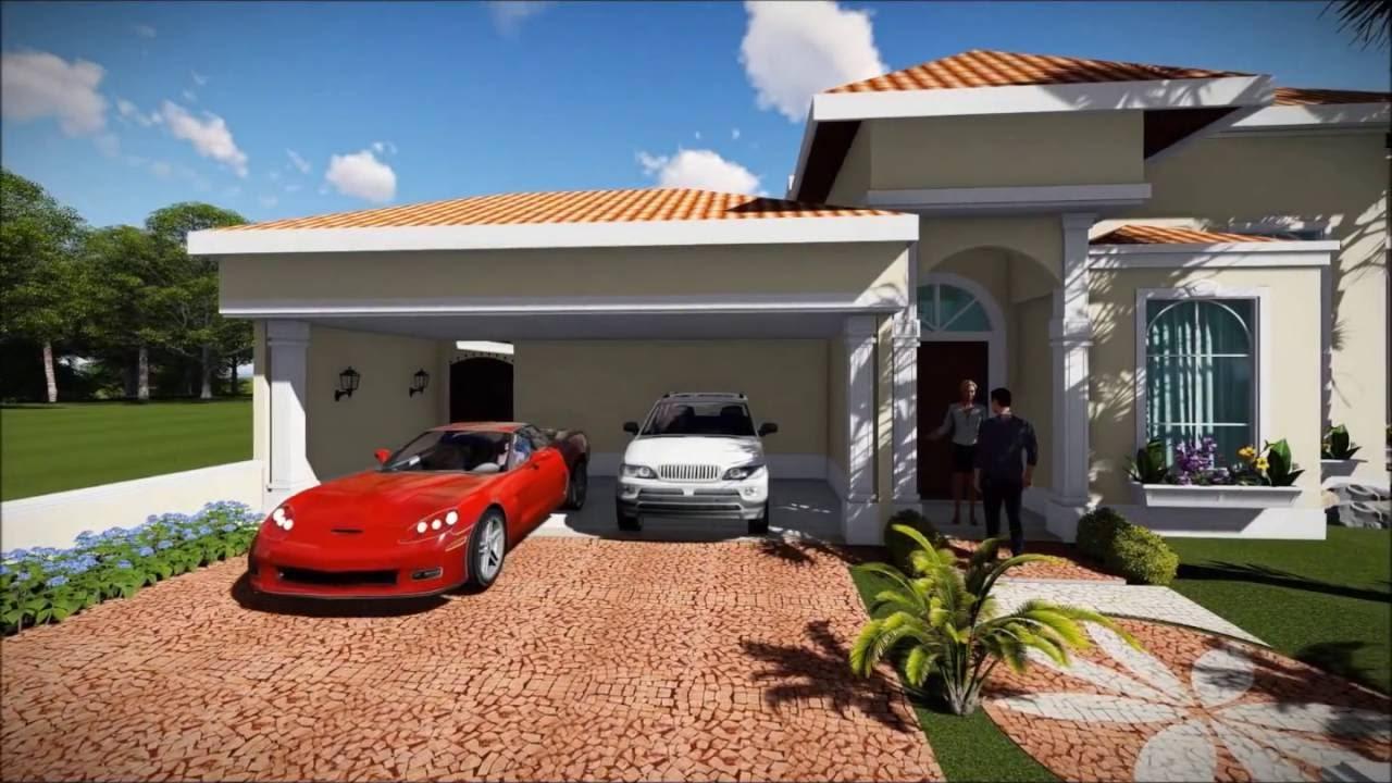 Projeto de casa classica em terreno de esquina em estilo - Casas estilo americano ...
