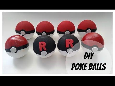 Halloween DIY Poke Balls | Aurora Cecilia