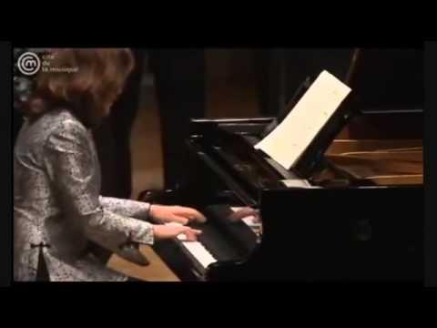 Helene Grimaud  Bach Harpsichord Concerto BWV 1052 I & II