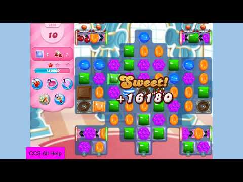 Candy Crush Saga Level 3126 25 moves NO BOOSTERS Cookie