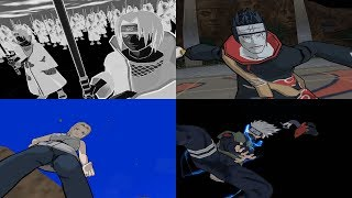 Naruto Clash Of Ninja Revolution All Ultimate Jutsu Ougi 1080p 60 FPS