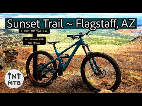 Sunset Trail: the best descent in Flagstaff???
