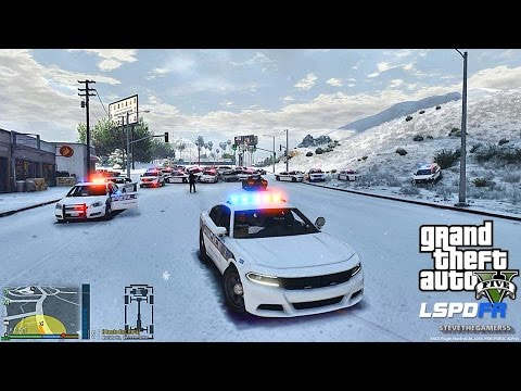 GTA 5 LSPDFR 0.3.1 - EPiSODE 282  - LET'S BE COPS - LIVE PATROL (GTA 5 PC POLICE MODS)