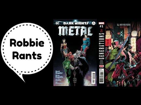 Weekly Comic Book Review 08/16/17 - Robbie Rants #110
