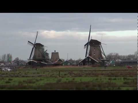 Zaanse Schans, Netherlands - Windmills HD (2013)