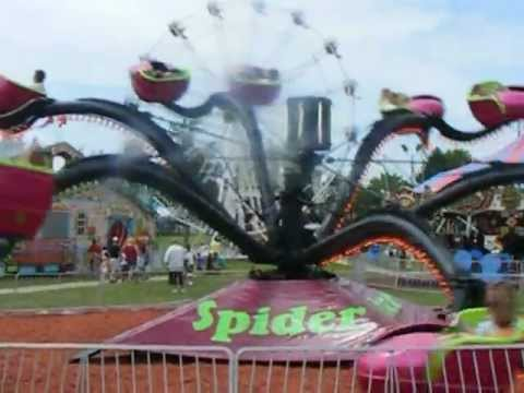Spider Ride Youtube