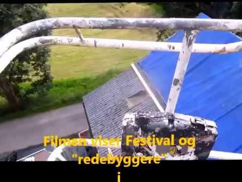 Midtgardfestivalen på Selje..Festival bygging før åpning del 1.....