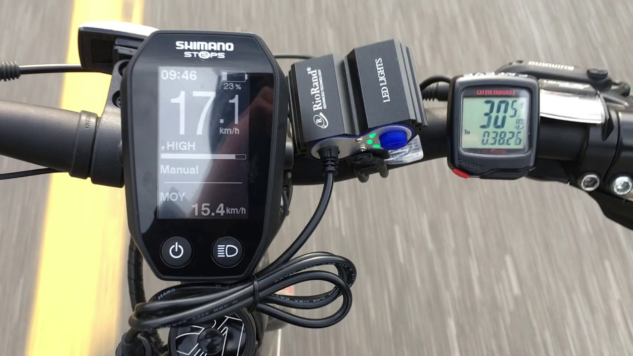 e-Bike speed limit unlock hack - Works on Shimano steps and others - Dual  speedometer