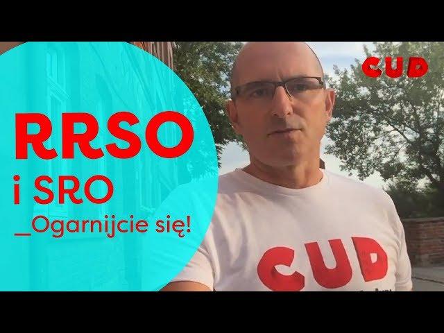 CUD w sprzedaży 14 - RRSO i SRO - Ogarnijcie się!