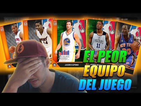 JUGANDO CON EL PEOR EQUIPO DE NBA 2K16