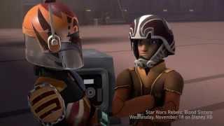 Star Wars Rebels Season 2 Episode 7 - Blood Sisters Footage