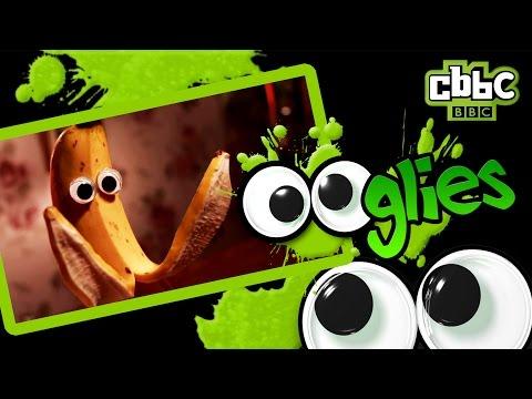 CBBC OOglies: Banana doing a jigsaw!